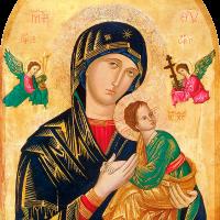 Quadro ícone Nossa Senhora Perpetuo Socorro