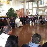 Papa visita comunidade terapêutica para dependentes químicos