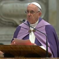 """Papa fala de """"cegueira espiritual"""" e convida à conversão"""