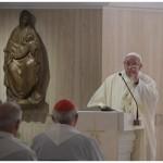 Papa Francisco: a dor é cristã, mas o ressentimento não