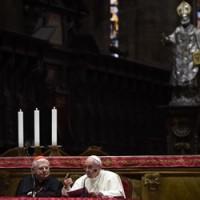 Na Catedral de Milão, Papa dialoga com sacerdotes e consagrados