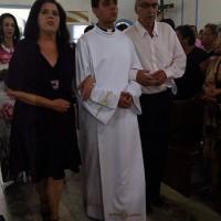 Tulio Marcos e os pais