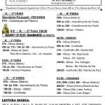 Comunicados Semanais – 01 a 07 de Maio de 2017