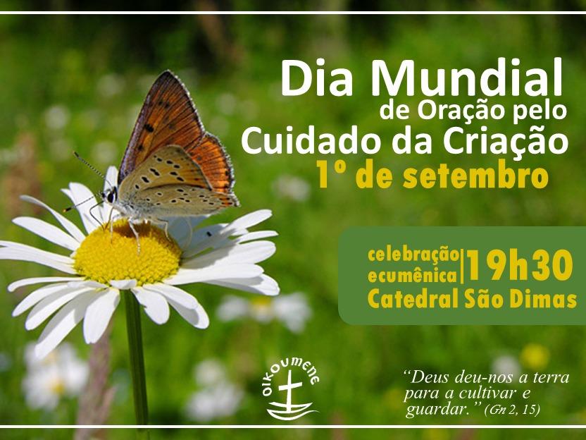Banner Digital Dia Mundial de Oração pelo Cuidado da Criação