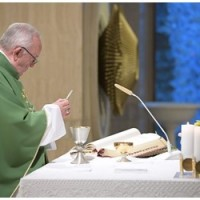Papa: pedir a Jesus a coragem de segui-Lo perto