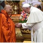 Papa em Mianmar: possam budistas e católicos caminharem juntos