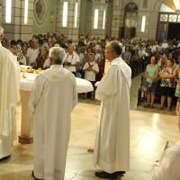 Paróquia São José recebe Dom Cesar em Visita Pastoral.