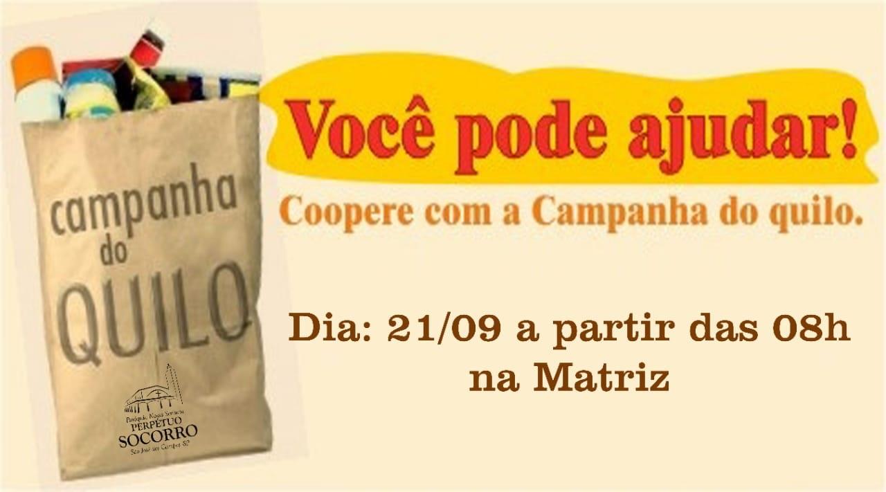 Campanha do Kg 21 09 02019