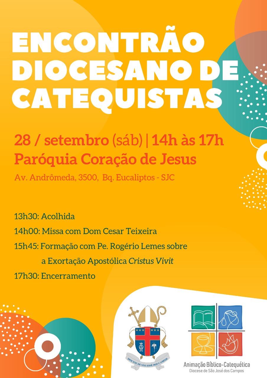 Encontrão Diocesano Catequistas 28 09 2019
