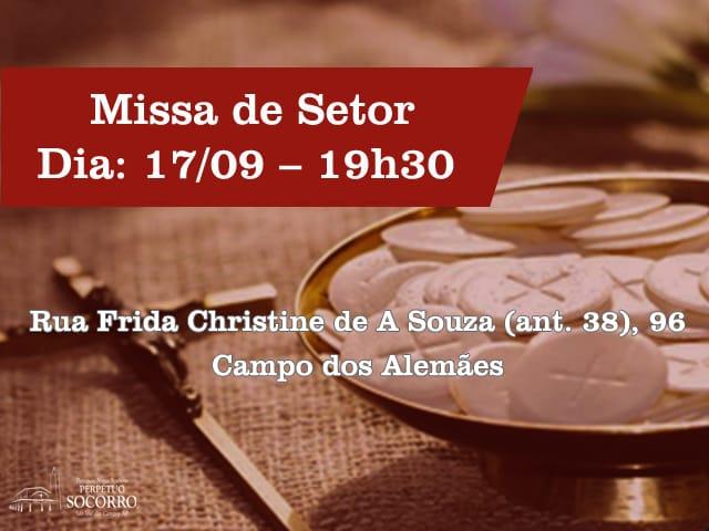 Missa de Setor 17 09 2019