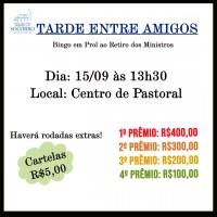 Tarde Entre Amigos – 15/09/2019
