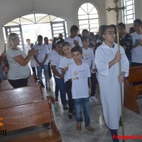 1ª Eucaristia Capela Santa Edwiges - Fotos Izaias Pascom 1