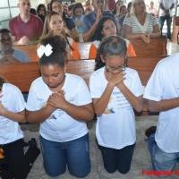 1ª Eucaristia Capela Santa Edwiges - Fotos Izaias Pascom 8