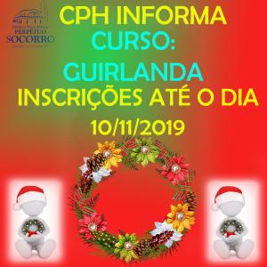 CPH Inscrições Curso de Guirlanda