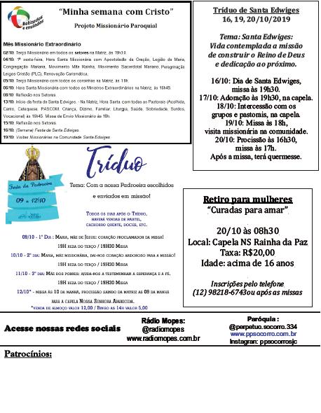Comunicados 07 a 13 09 2019 - fl 02