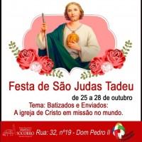 Festa: Tríduo Capela São Judas 2019