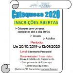 Inscrições para Catequese 2020!