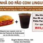 Pastoral da Sobriedade Promove: Pão com Linguiça!