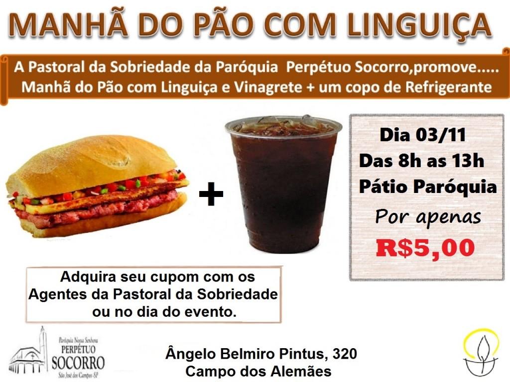 Manhã do Pão com Linguiça - 03 11 2019