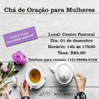 Chá de Oração para Mulheres!