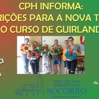 Inscrições CPH: Curso Guirlanda para o Natal – Turma 2.