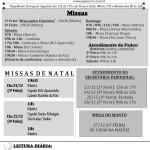 Comunicados Semanais – de 23 a 29/12/2019.
