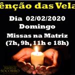 Bênção das Velas – 02/02/2020.