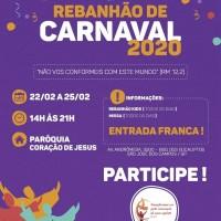 Rebanhão de Carnaval 2020 – de 22 a 25/02!