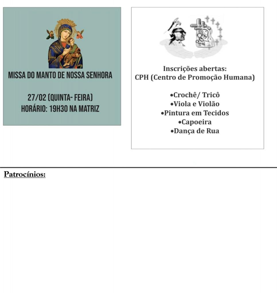 Comunicados Semanais 24 Fev a 01 Mar Fl 02