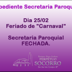 Expediente Secretaria 25/02.
