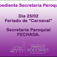 Expediente Secretaria 25/02.
