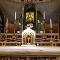 Igreja de Santo Afonso com o ícone