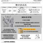 Comunicados Semanais – de 16 a 22 de Março.