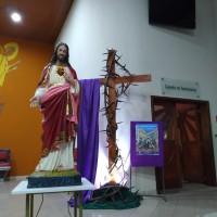 Aconteceu: 1ª Sexta-Feira Missa do Sagrado Coração de Jesus e Via Sacra – 06/03.