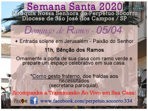 Semana Santa 2020 - Domingo de Ramos 05
