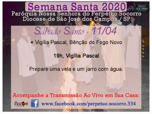 Semana Santa 2020 - Sábado Santo