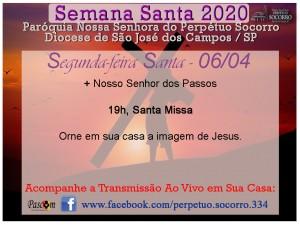 Semana Santa 2020 - Segunda F Santa 06 04