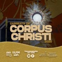 Carreata Corpus Christi 2020.
