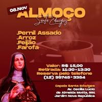Almoço Capela Santa Edwiges – 08/11/2020.
