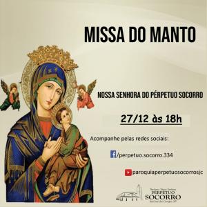 Missa do Manto 27 12 2020 às 18h