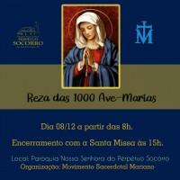 Reza das 1000 Ave-Marias – 08/12.