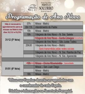 Programação de Ano Novo PNSPS 2020-2021