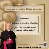 Parabéns, Dom César!