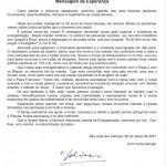 Mensagem de Esperança Bispo Dom César – 08/03/2021