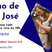 Tríduo de São José – de 16 a 18/03.