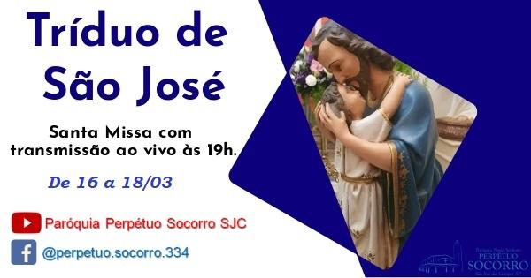 Tríduo de São José 2021