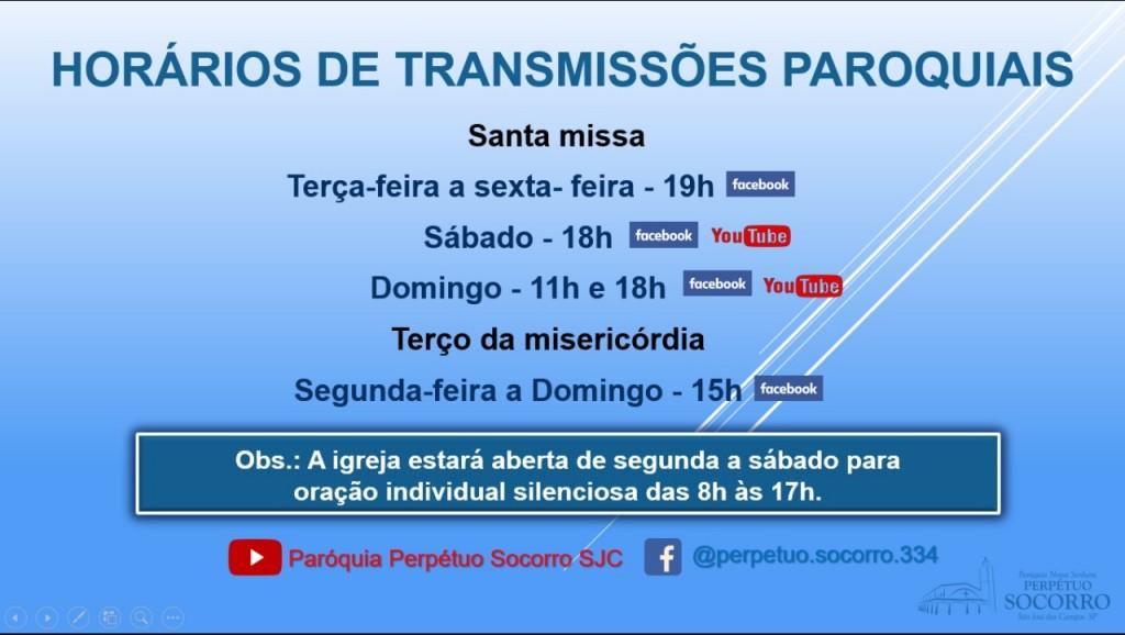 Transmissões Paroquiais 15.03.2021b