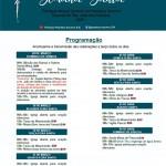 Programação Semana Santa 2021.