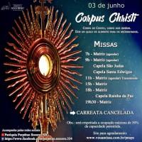 Corpus Christi – 03/06/2021.