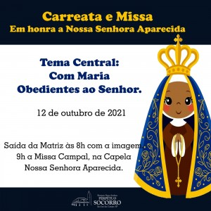 Carreata e Missa 12.10.2021